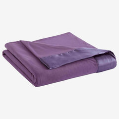 Micro Flannel® All Seasons Lightweight Sheet Blanket, PLUM