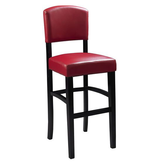 Monaco Stool 30'H, ESPRESSO RED
