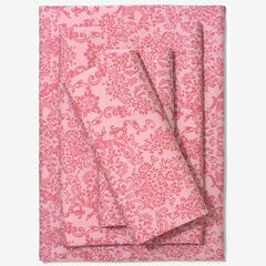 BH Studio 1000-TC. Sheet Set, SILVER PINK DAMASK