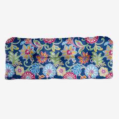 Tufted Wicker Settee Cushion, GRANADA