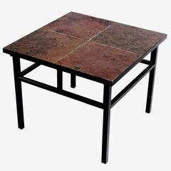 Slate End Table,