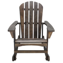 Adirondack Wooden Rocking Chair,