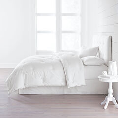 Carson Comforter & Pillow Set, WHITE