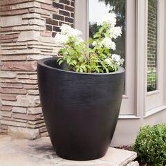 """Modesto 30"""" Round Planter,"""