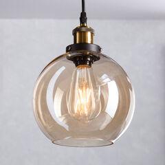 Mini Round Globe-Shaped Pendant Lamp,