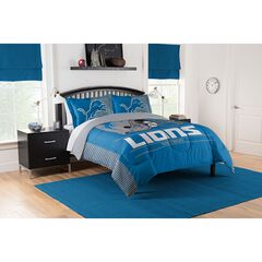 COMFORTER SET DRAFT-LIONS,