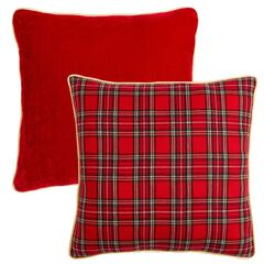 Plaid Toss Pillow,