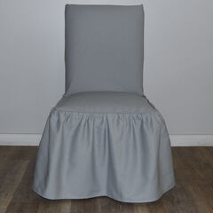 Ruffled Dining Chair Slipcover by Classic Slip Covers, Inc.,