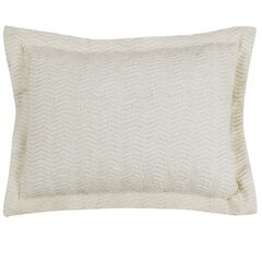 Natick Collection Tufted Chenille Standard Sham by Better Trends,