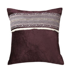 Jessica Simpson Jacky 16' Sq. Velvet Decorative Pillow,