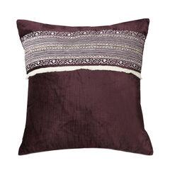 Jessica Simpson Jacky 16' Sq. Velvet Decorative Pillow,