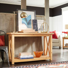 Country Lodge Console Table,