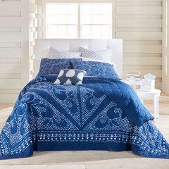 Naran Batik Print Bedspread,