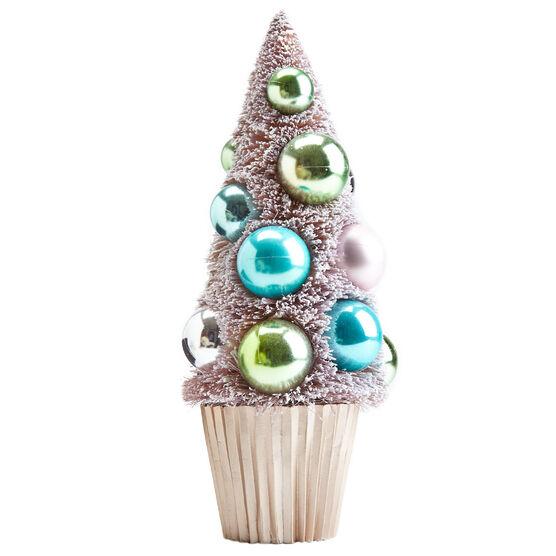Small Cupcake Tabletop Tree, PALE ROSE