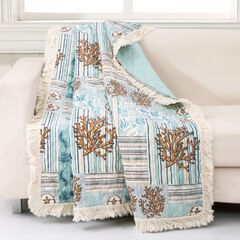 Key West Quilted Throw Blanket,