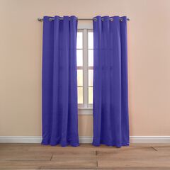 BH Studio Room-Darkening Grommet Panel, GRAPE