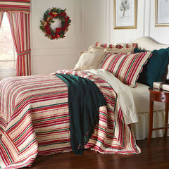 Image result for PEACH MULTI COLOR STRIPE BEDSPREAD