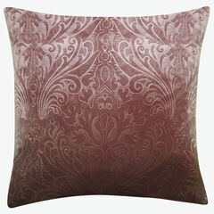 Embossed Panne Velvet Decorative Pillow,