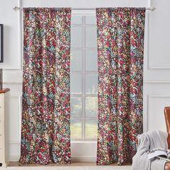 Alice Midnight Curtain Panel Pair,