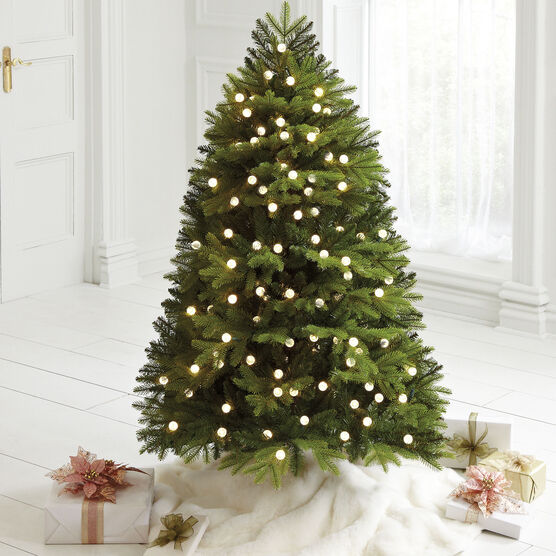 5' Mountain Pine Pre-Lit Tree , GREEN