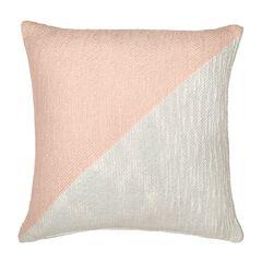 Colorblock Decorative Pillow,