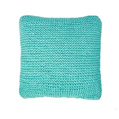 Cable Knit Decorative Pillow,