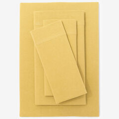 BH Studio Jersey Knit Sheet Set, LEMON