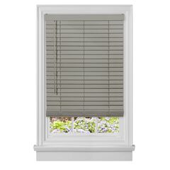 "Cordless GII Madera Falsa 2"" Faux Wood Plantation Blind,"