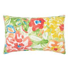 """20"""" x 13"""" Lumbar Pillow, POPPY GREEN"""