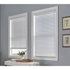 "2"" Faux Wood Cordless Blinds,"