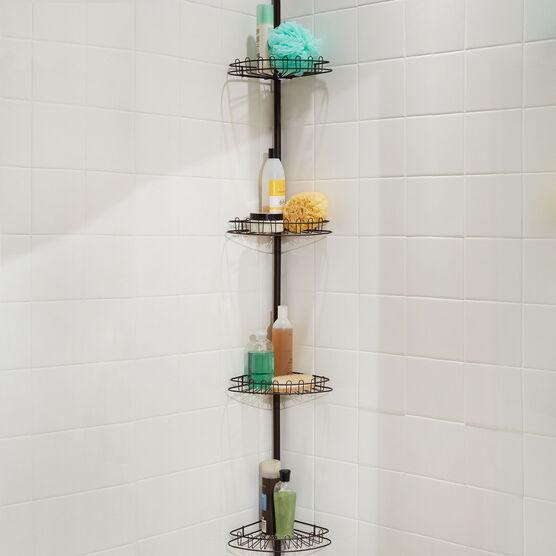 4 Tier Corner Shower Shelf Bathroom