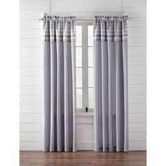 Farm Hill Rod-Pocket with Attached Valance,