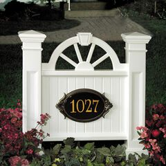 Winchester Address Sign,
