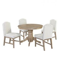 Cambridge White 5 Pc Dining Group,