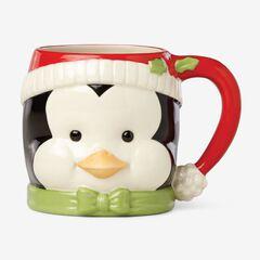Lenox Holiday Mugs, PENGUIN