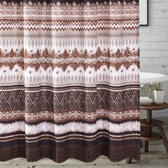 Southwest Latte Bath Shower Curtain,