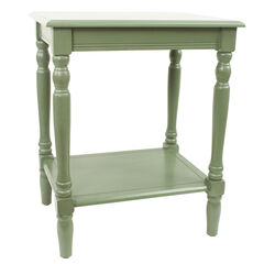 Simplify End Table, GREEN