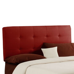 "Cal. King Size, 74""Lx4""Wx51-54""H, RED"