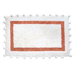 Pompom Cotton Bath Rug,