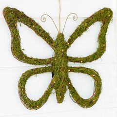 Pre-Lit Grass Butterfly,