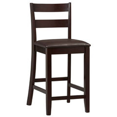"Triena Collection Soho Counter Stool, 24""H,"