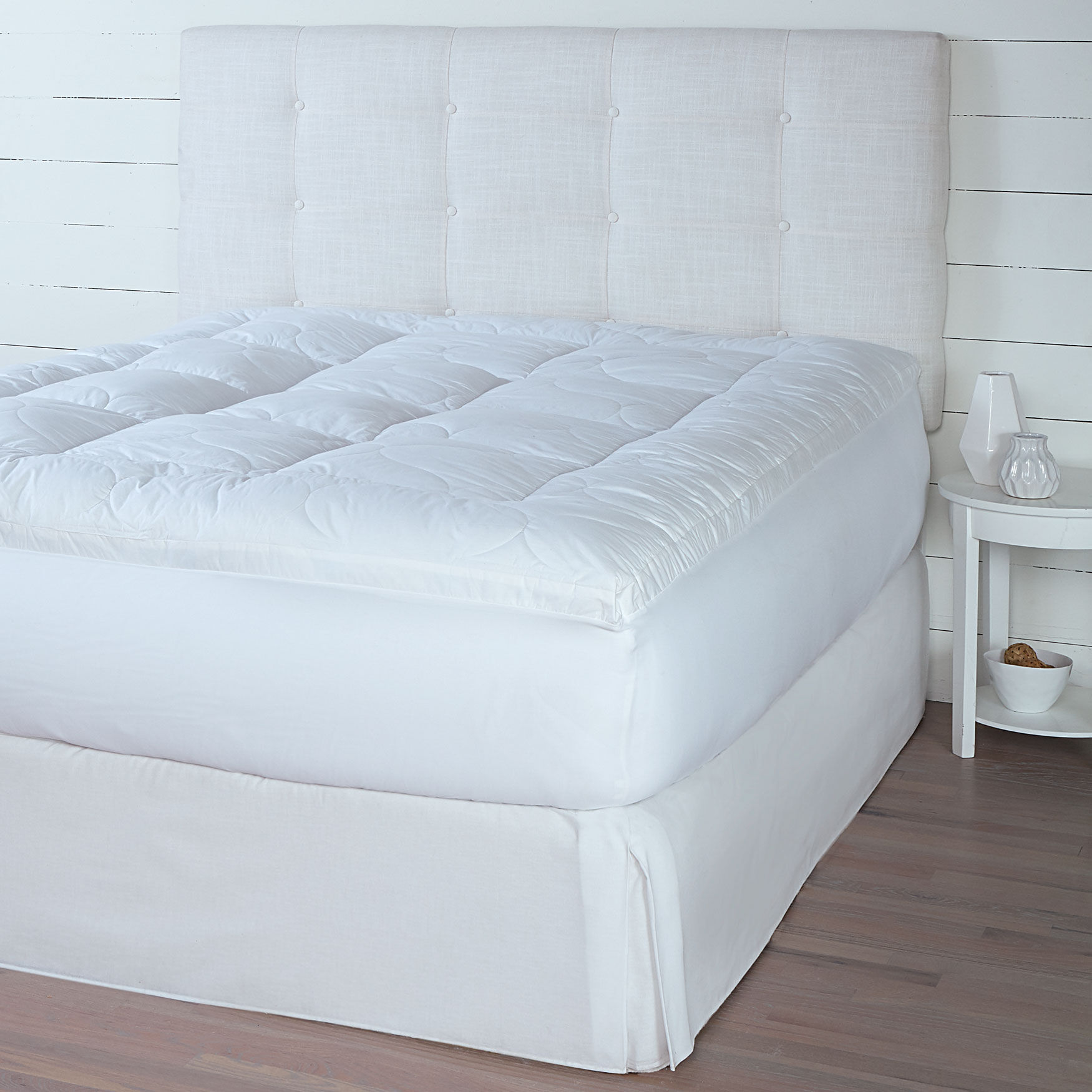 extra support bed topper bedding brylane home rh brylanehome com