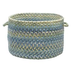 Rustica Basket by Colonial Mills, BLUE