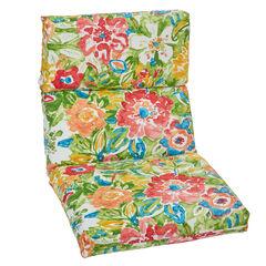 Universal Chair Cushion, POPPY GREEN