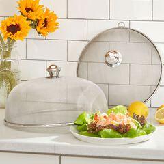 Round Mesh Dish Covers, Set of 2,
