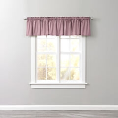BH Studio Cotton Canvas Rod-Pocket Valance,