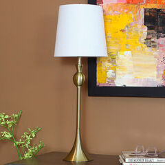 Wynn Buffet Lamp, BRASS