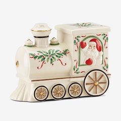 "Lenox® Hosting The Holidays""¢ Santa Train Cookie Jar,"