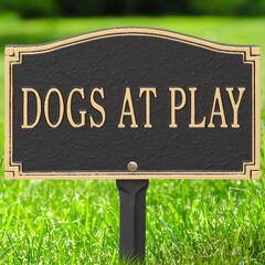 Dogs At Play Sign,