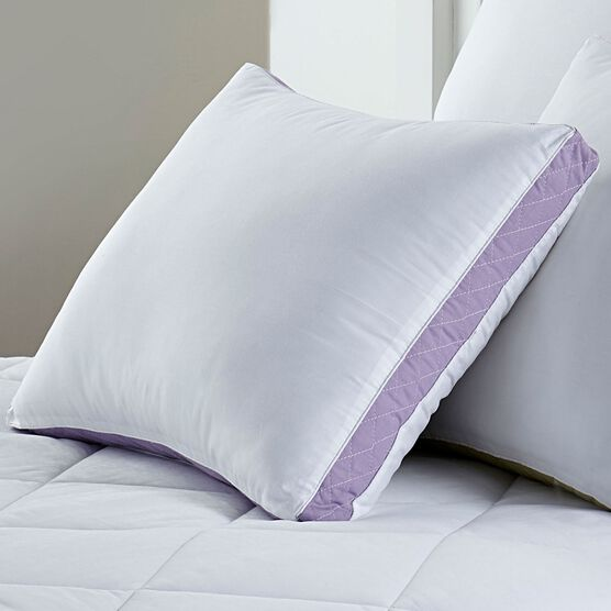 Gusseted Density 2-Pack Pillows, Extra-Firm,